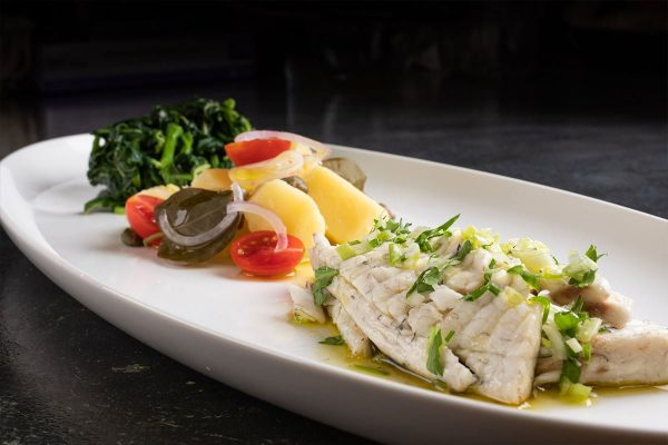 Grilled Seabass Fillet Papadakis Restaurant