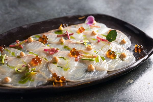 Grouper Carpaccio - Delivery Menu | Papadakis Restaurant