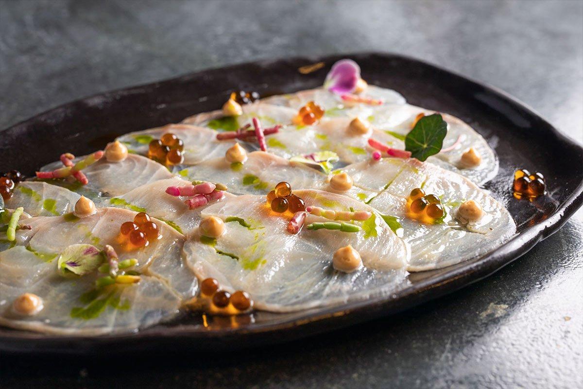 Καρπάτσιο Ροφού - Μενού Delivery | Εστιατόριο Παπαδάκης