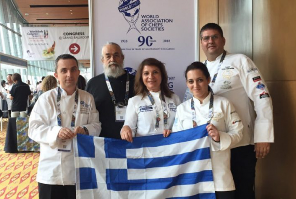 Greece Worldchefs Congress 2018 Argiro Barbarigou Αργυρω Μπαρμπαριγου