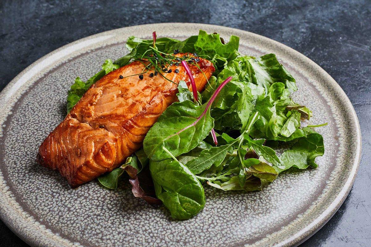 Salmon Fillet Papadakis Restaurant