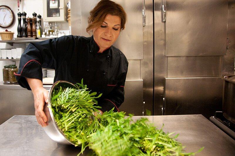 Inside Our Kitchen Papadakis Restaurant Kolonaki Athens