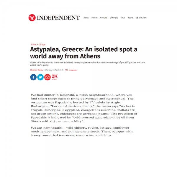 papadakis restaurant press independent