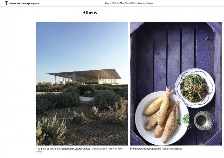 papadakis restaurant press the new york times style magazine