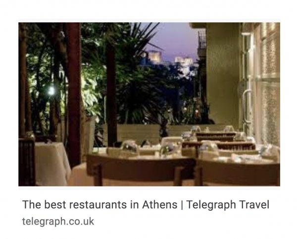 best restaurants in athens greece telegraph travel