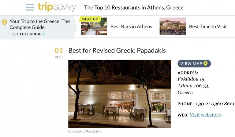 best restaurants in athens greece tripsavvy